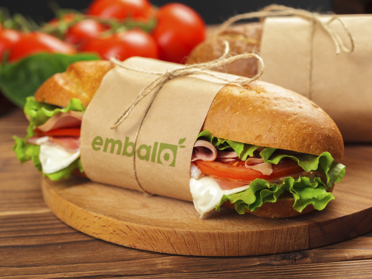 Emballage sandwich